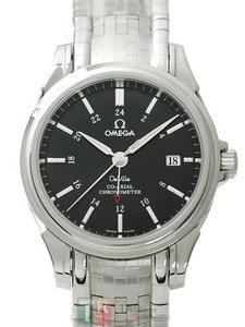 Copy Watches OMEGA DE VILLE COLLECTION CO-AXIAL GMT 4533.51 [5d35]
