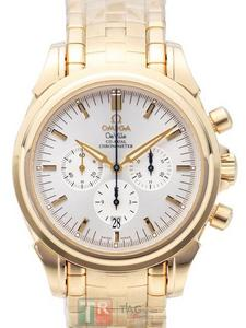 Copy Watches OMEGA DE VILLE COLLECTION Co-Axial Chronograph 4141.30 [2011]
