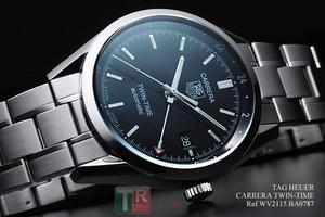 Copy Watches TAG Heuer Carrera TWIN-TIME WV2115.BA0787 [9aeb]